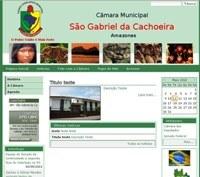A Câmara de Vereadores de São Gabriel Lança Portal na Internet.