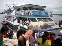 O Barco Pai esteve em nosso municipio!